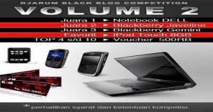 Djarum Black Blog Competition Volume 2