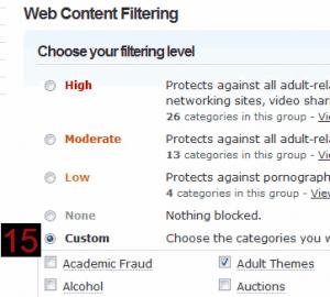 filter internet