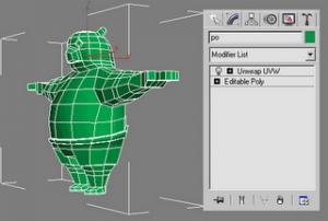 kungfu panda texturing