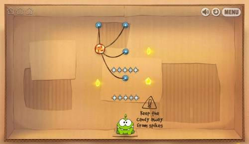 game online cut the rope