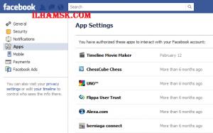 facebook apps listing