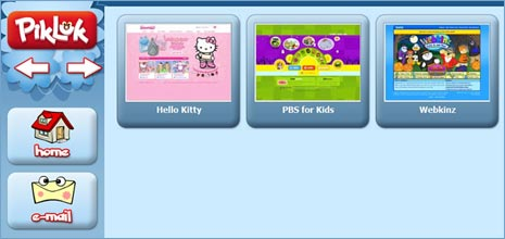 pikluk kids browser