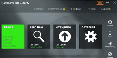 norton antivirus 2013 - anti virus untuk internet