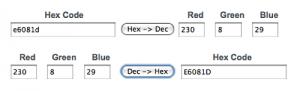 hex-RGB