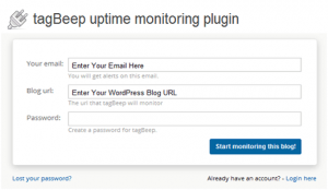 TagBeep Uptime Monitor