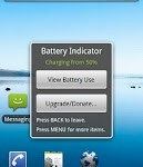aplikasi android Battery Indicator