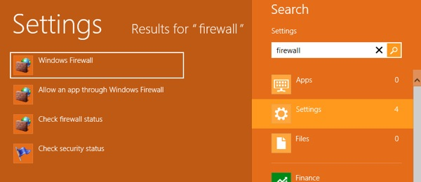 firewall windows 8