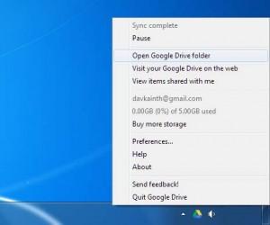membuka folder google drive