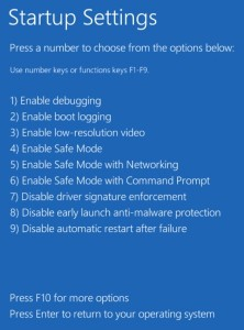 mengaktifkan safe mode windows 8