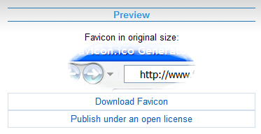 preview favicon