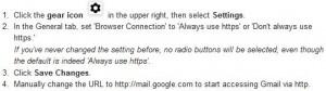 setting google https