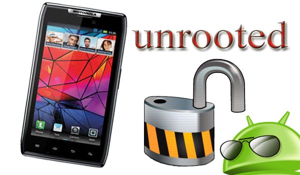 unrooting android