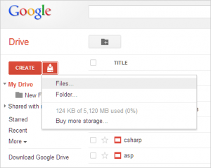 upload file di situs google drive