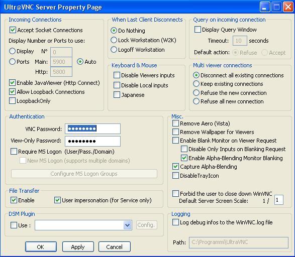 UltraVNC software remote desktop gratis