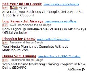 iklan sosial google adsense