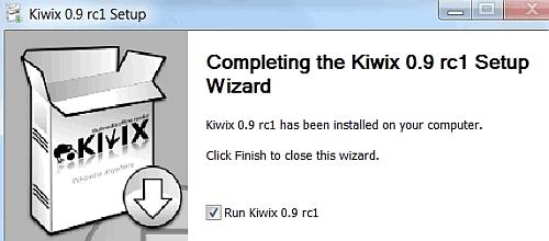 instal kiwix