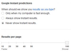 100 hasil pencarian google
