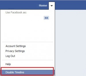 Disable Timeline