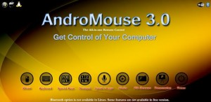 andromouse mengubah hp android menjadi mouse keyboard wireless