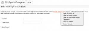 konfigurasi akun google