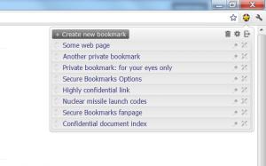 list bookmark