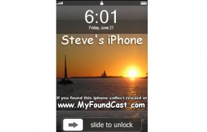 myfoundcast melacak iphone hilang
