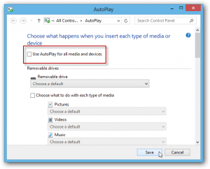 AutoPlay for All media and Devices