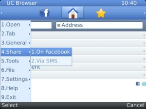 fitur sharing uc browser