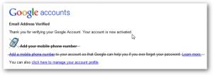 google meminta nomor telepon