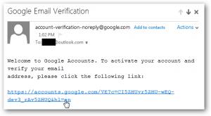 link konfirmasi akun google