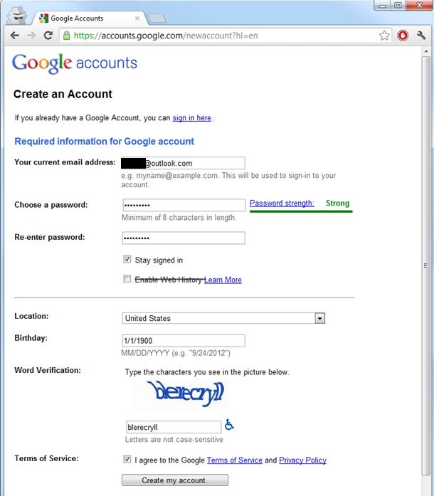 membuat akun google tanpa gmail