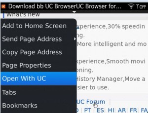uc browser associated program