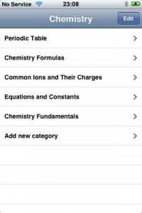 aplikasi ios Chemistry Formulas