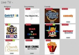 kategori aplikasi live tv