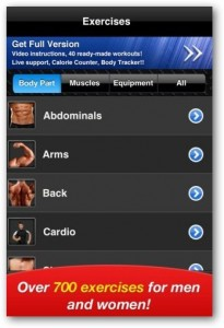 aplikasi iphone FitnessFree