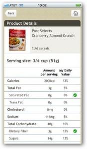 aplikasi iphone Fooducate