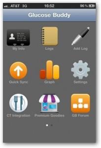 aplikasi iphone GlucoseBuddy