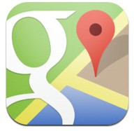 google maps di iphone
