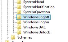 hirarki windowslogoff