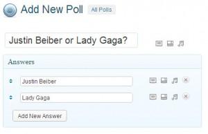 menambahkan polling baru