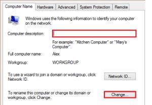 mengubah nama komputer