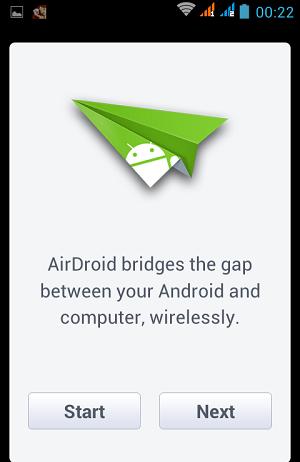 start airdroid