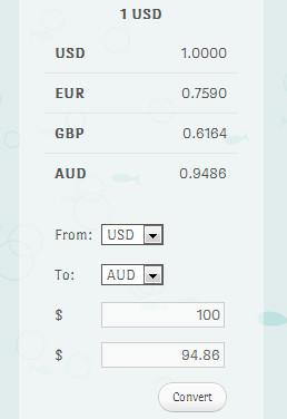 tampilan currencyr