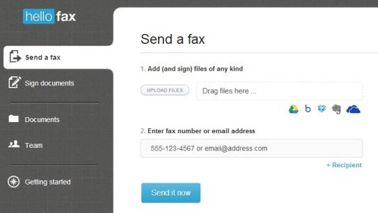kirim fax gratis