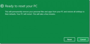 mulai reset windows 8