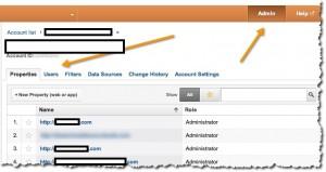 menambahkan user baru analytics