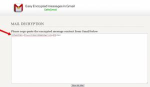 paste pesan enkripsi