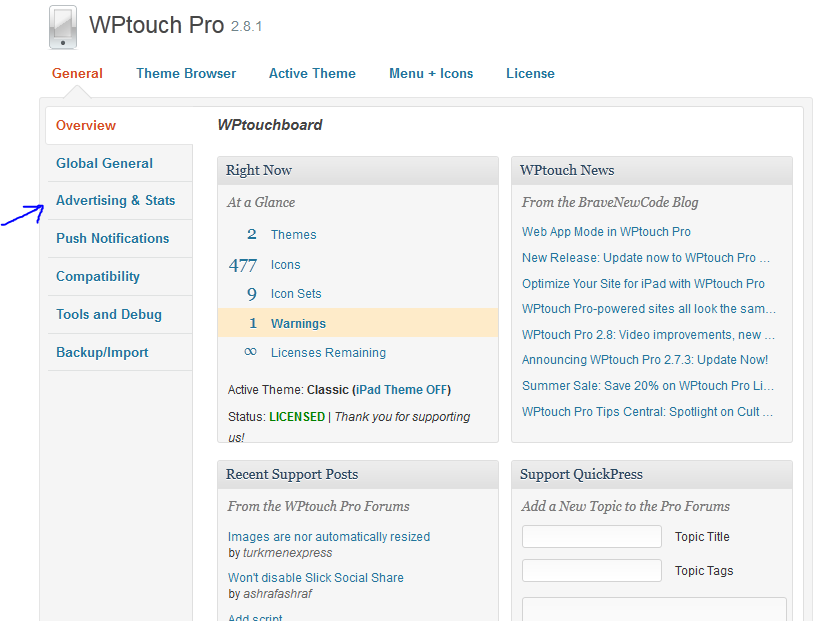 wptouch pro