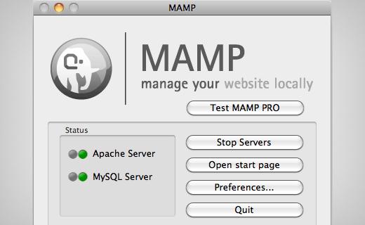 aplikasi mamp