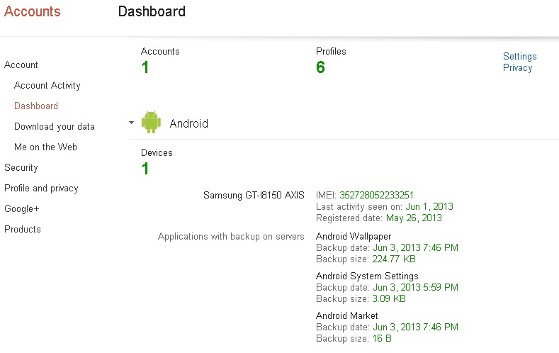 nomor imei android
